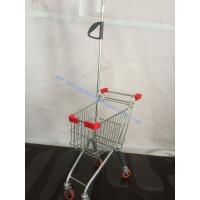 Wholesale Hypermarket Metal Kids Shopping Trolley Funny Colorful with Flag from china suppliers