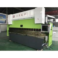 Wholesale Customized Voltage Sheet Shearing Machine , 0.3mm 3200 X 200 Ton CNC Press Brake from china suppliers