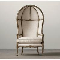 Wholesale Traditional Versailles Fabric Living Room Chairs With Dramatic Dome And Deep Wings from china suppliers