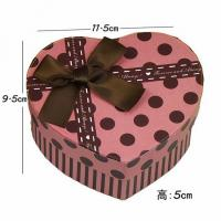 Wholesale Pink Heart Butterfly Jewelry Paper Gift Box With Corrugated Cardboard from china suppliers