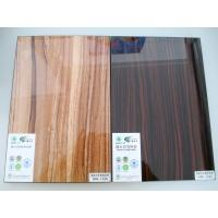 Wholesale new design uv mdf glossy board for modern kitchen cabinets from china suppliers