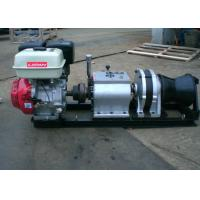Quality 5 Ton Fast Line Speed Gasoline Engine Winch for Power Construction for sale