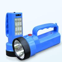 Wholesale 110-240V 5W High Power 9 LED Emergency Handle ABS Led Portable Spotlight/Searching Light from china suppliers