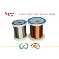 Wholesale Constantan Resistance Wire , Enamelled Wire Yellow Nature Color for Automobile Parts from china suppliers
