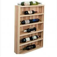 Wholesale Alcohol Beer / Champagne Wooden Display Racks For supermarket from china suppliers