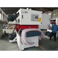 Wholesale double sides wide belt sander top and bottom wide belt sanding machine R-R630 from china suppliers