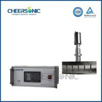 20KHZ Frozen Vegetables / Sheet Cheese Cutting Machine With Ultrasonic Cutting Tool