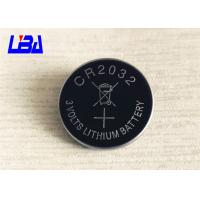 Quality Standard 3.0g Lithium Cell Battery , 240mAh Cr2032 3v Battery  For Camera for sale