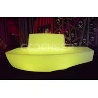 Wholesale 3 People Seat  Led Sofa Plastic Illuminated Outdoor Furniture from china suppliers