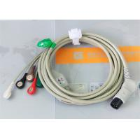Wholesale TPU Material Patient Monitor Accessories One Piece ECG Cable Compatible M&B from china suppliers