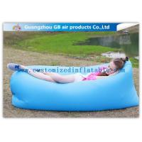Wholesale Multi Color Adults Inflatable Sleeping Bag Hangout Laybag for Beach Lounger from china suppliers