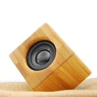 Wholesale Professional metal case wireless bluetooth bamboo speaker from china suppliers