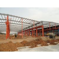 Wholesale Structural Steel Frames For Commercial Steel Buildings And Warehouse Projects from china suppliers