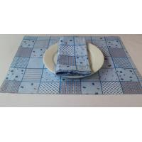 Buy cheap Durable Plain Cotton 125gsm Dining Table Mats 45x30cm For Bar / Car from wholesalers
