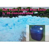 Wholesale Blue 1 Liter Party Foam Machine Liquid , 1 : 20 Concentrated from china suppliers