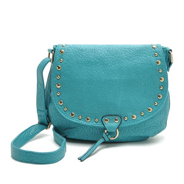 Quality America's brand stock women bodycross Vivet Saddle Bag,fashion Metallic shoulder Mini bags for sale