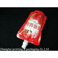 Wholesale Moisture Proof 200 Ml & 250 Ml Liquid Spout Bags In Instant Drink Food Packaging from china suppliers