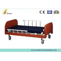 Wholesale Manual Medical Hospital Adjustable Beds / Nursing Home Bed Wooden Two Cranks (ALS-HM001) from china suppliers