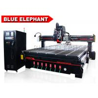 Wholesale Blue Elephant 2040 Auto Tool Changer CNC Oscillating Knife Spindle Sander Tool Blade Roll Paper Cutting Machine from china suppliers