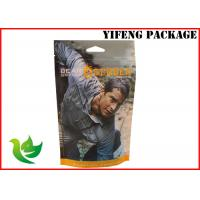 Wholesale Customized Resealable Plastic Garment Bags Stand Up Pouches With Zipper from china suppliers