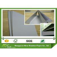 Wholesale Rigid Gray Paperboard Single Side Coated Duplex Board Grey Back 1550gsm Stiffness from china suppliers