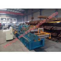 Buy cheap Steel Z Profile Section Purlin Cold Metal Rolling Machine with Middle Production Capacity from wholesalers