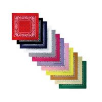 "Wholesale 100% Cotton Head Wrap Bandanas 12 Pack 22""x22"" from china suppliers"