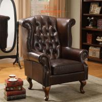 Wholesale Leisure Comfortable Single Chair Lounge / Modern Chesterfield Sofa from china suppliers