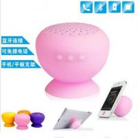 Wholesale bluetooth mini speaker, wireless bluetooth speaker/Silicon mini speaker for mobile tablet from china suppliers