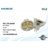 Wholesale Home Glass Cover Led Spotlight Bulbs For  Work 2W 100LM SMD5050 from china suppliers