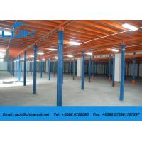 Wholesale Cold Roll Steel Mezzanine Floor Boards , Heavy Duty Mezzanine Storage Systems from china suppliers
