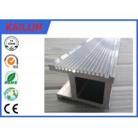 Wholesale Natural Silver Finish 6063 T5 / T6 Industrial Aluminium Profiles For Co2 Laser Equipment from china suppliers