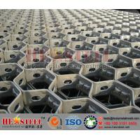 Wholesale 253MA Hex Mesh with Bonding Holes,Hexmesh for Blast Furnace from china suppliers
