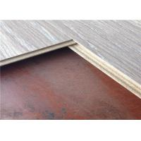 Wholesale Recycled Wood Small Embossed Merbau Textured Laminate Flooring with Click Grey Board from china suppliers