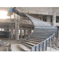 Wholesale Customized Q235 Durable Structural Steel Stairs 8mm Thickness Easy Installation from china suppliers