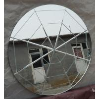 Wholesale decorative wall mirror bathroom mirror round mirror groove mirrors spider web mirrors from china suppliers