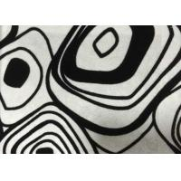 Wholesale White Polyester Flocked Sofa Upholstery Fabric Flocking Fabric from china suppliers