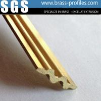Wholesale Antislip Brass Stair Nosing for Decking Brass Antislip Stair Strip from china suppliers