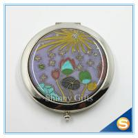 Wholesale Shinny Gifts Hot Sale Factory Directly Makeup Mirror Small Metal Mirror from china suppliers