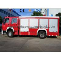 Wholesale 12000L 8000L Howo 4X2 6X4 Fire Rescue Truck , Water And Foam Fire Truck from china suppliers