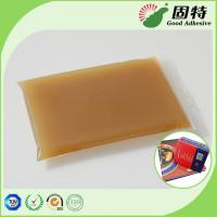 Buy cheap High Viscosity Amber Animal Jelly Glue For Automatic Case Maker from wholesalers