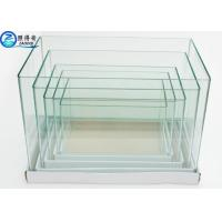 Wholesale Ultra Clear white Glass Arc 5 In 1 Set Mini Aquarium Fish Tanks Square Customized Fish Tank from china suppliers