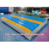 Wholesale Professional Flexible Inflatable Gymnastics Mat For Kids Tumbling , School Activities from china suppliers