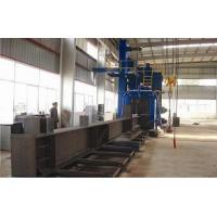 Wholesale Automatic Heavy-duty SPQ Series Blast Cleaning Roller Machine of H Beam Welding Line from china suppliers