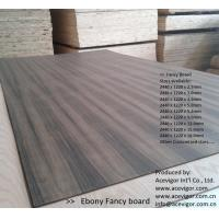 Wholesale Ebony Fancy Plywood 1220 x 2440mm from china suppliers