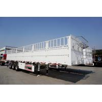 Buy cheap 3 axles fence trailer  heavy transport trailers for sale  - CIMC from wholesalers