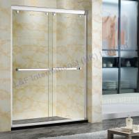 Wholesale 8MM Tempered Glass Double Sliding Shower Door from china suppliers