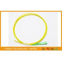 Wholesale Fiber Optic Pigtail SC APC SM SX 1.5 Meter 3.0mm LSZH, SC APC SM SX Pigtail 3mm from china suppliers