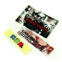 Screen Printing Tagless Labels For Clothing / Hats , Heat Transfer Brand Name Tags