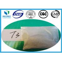 Wholesale T3 Liothyronine Sodium Raw Yellow Powder Treat Thyroid Disorder from china suppliers